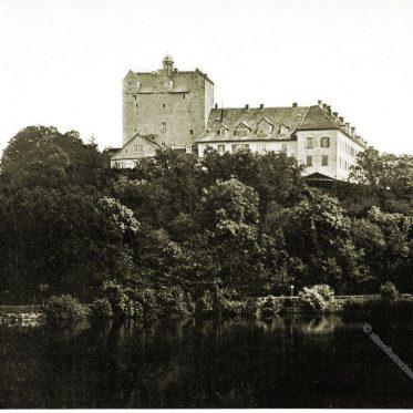 Schloss Ballenstedt in Sachsen-Anhalt. Stammsitz der Askanier.