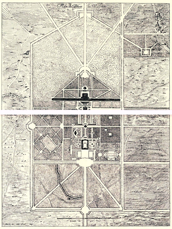 Chateau, Vaux-le-Vicomte, Israel Silvestre, Barock, Garten