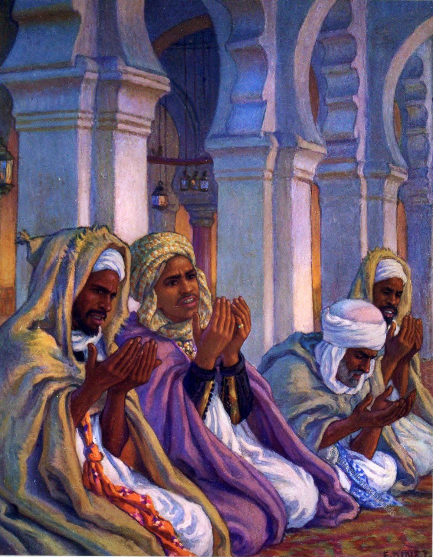 Ad Da'wah, Sure, Etienne Dinet, Prayer, Arabs, Moslems, Koran