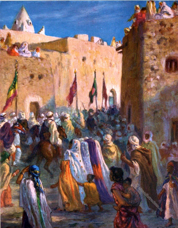 AL Dschihad, Holy War, Etienne Dinet, arabs, Moslem, Heiliger Krieg