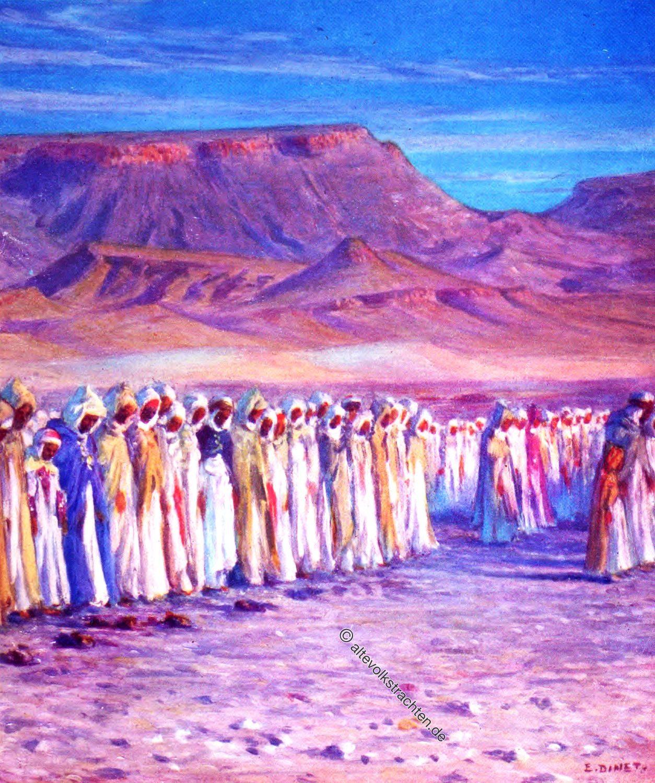 عيد الفطر, Ramadhan, Moslems, Festival, Arabia, Prayer, Etienne Dinet