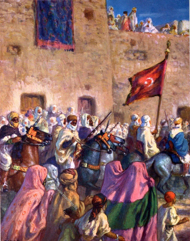 AL-Dschihad, Holy War, Etienne Dinet, arabs, Moslem, Heiliger Krieg