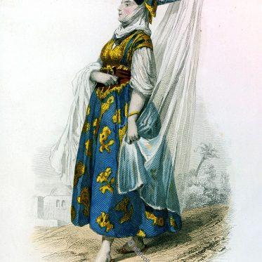 Algerien. Eine verheiratete, jüdische Frau.