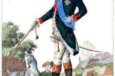 COMTE D'ARTOIS, uniform, dragons, Karl X. König, Frankreich, Rokoko