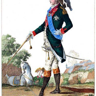 Karl X., König von Frankreich, als Graf von Artois 1778.
