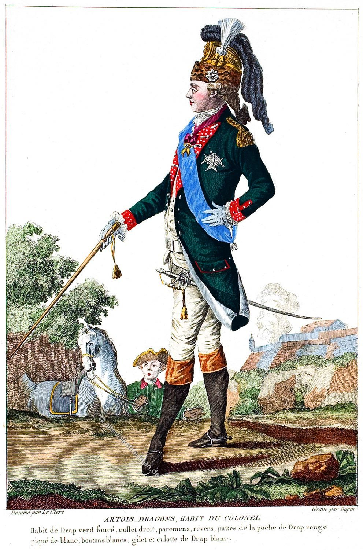 Karl X, Graf, Artois, uniform, Dragoner, König, Frankreich, Rokoko