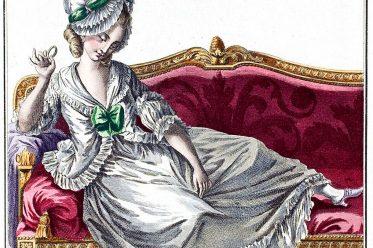 Caraco, Polonaise, Rokoko, Louis VVI, Mode, Kostümgeschichte