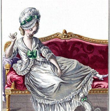 Caraco à la Polonaise. Belle négligence 1778.