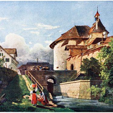 Der Fröschengraben. Bilder aus der Geschichte der Stadt Zürich.