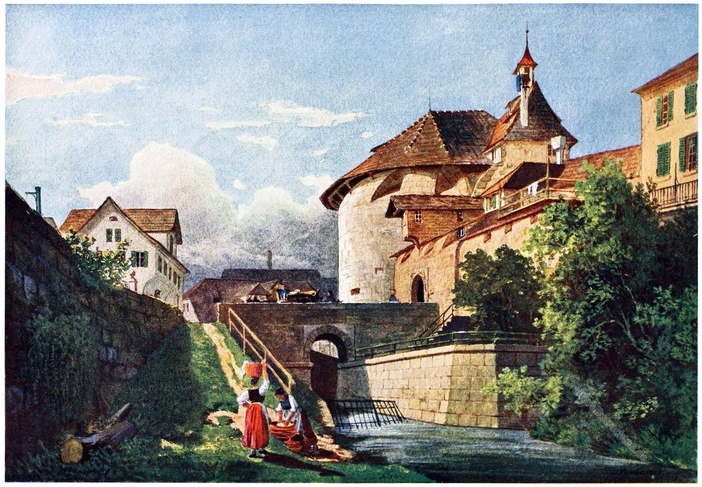 Fröschengraben, Zürich, Carl Toechi
