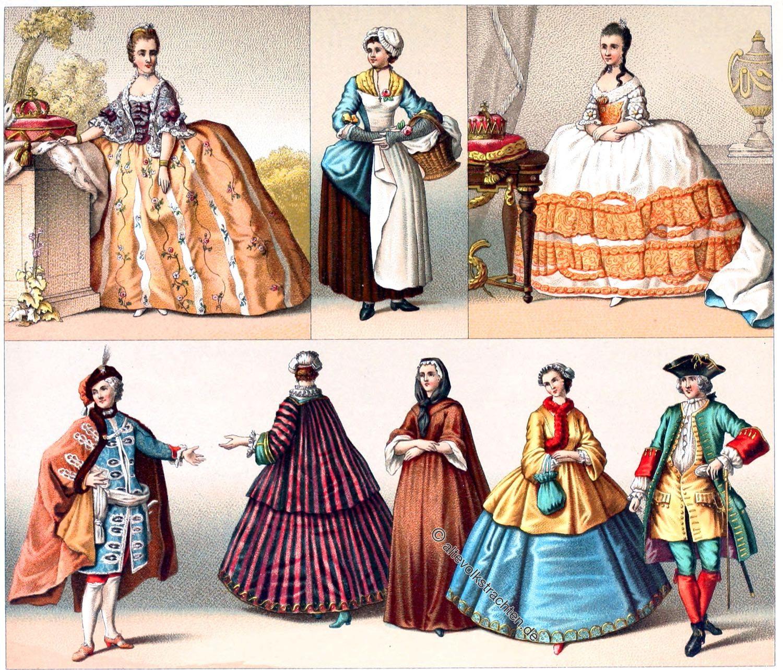 Caraco, Gasaquin, Rokoko, Mode, Kostümgeschichte, Modegeschichte