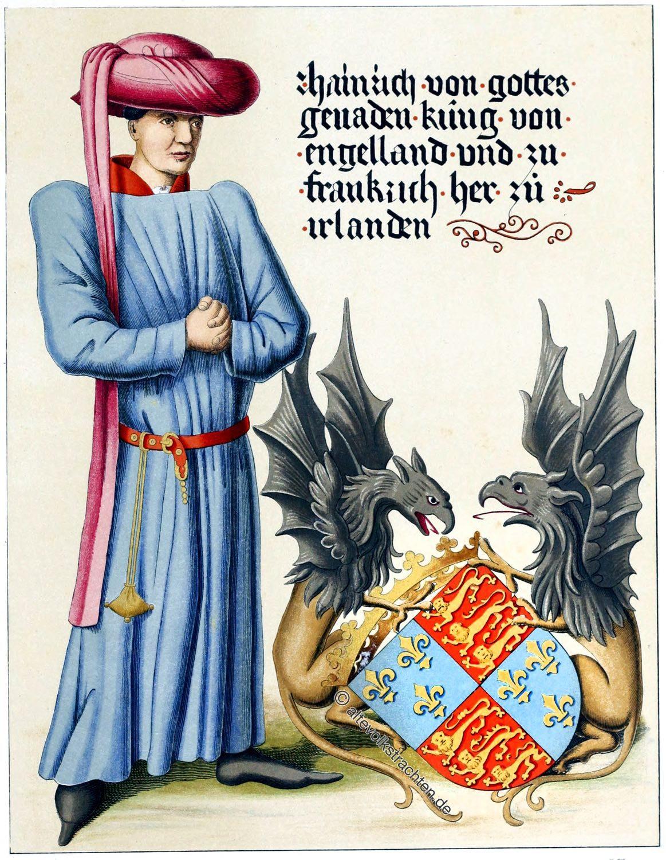 Heinrich VI, König, England, Lancaster, Mittelalter, Plantgenet