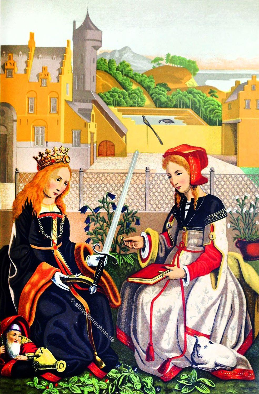 Märtyrerinnen, Martyrium, Märtyrerin, Heilige, Katharina, Alexandrien, Agnes, Rom