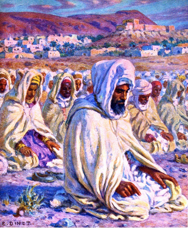 Imam, Prayers, Arabia, Muslim