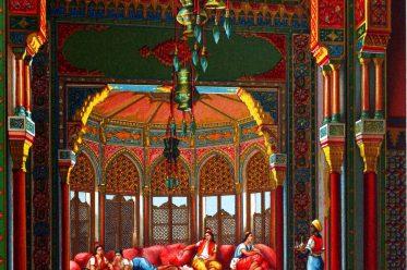 Auguste Racinet, Harem, Innenarchitektur, osmanisch, Palast, Topkapi, Istanbul