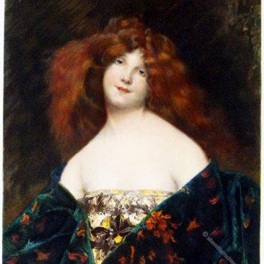 Juana Romani. Portrait der Mina da Fiesole, 1899