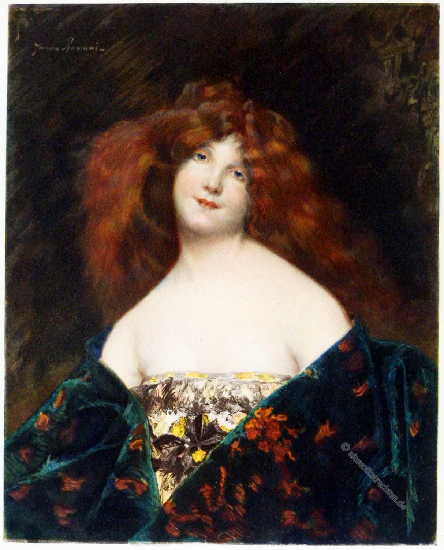 Juana Romani, Mina da Fiesole, Kunst, portrait