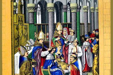 Krönung, Karl V., König, Frankreich