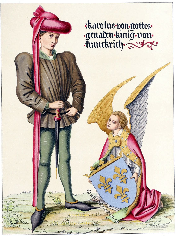 Karl VII, König, Frankreich, Mittelalter