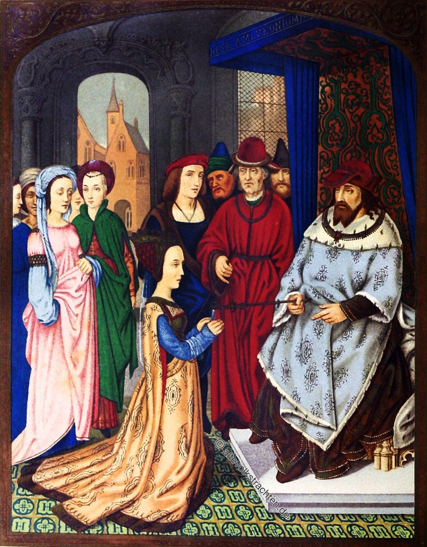 Königin, Saba, Salomon, Mittelalter, Kostüme