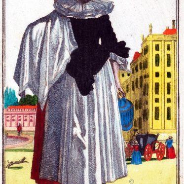 Magd aus Nürnberg um 1700.