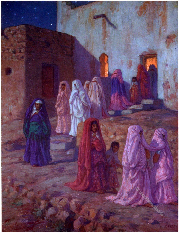 Maulid an-NabÄ�, مولد النبي, Maulid, Prophet's Birthday, Prophet Mohammed, Geburtstag, Etienne Dinet
