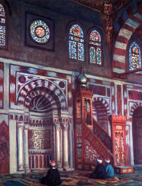 AL Mihrab, Moschee, Mosque, qibla, Moslem,