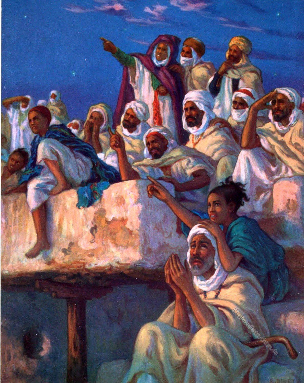 Ramadhan, Gläubige, Moslems, Etienne Dinet