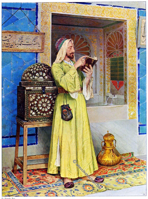 Osman Hamdi Bey, Wunderbrunnen, Maler, Türkei, Kunst, Kostüm, Osmanisches Reich