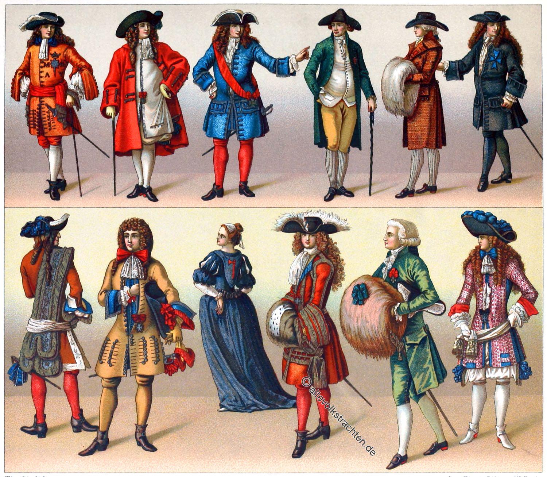 Militärische Ritterorden, Frankreich, Barock, Malteserorden, Sternenorden, Galatracht