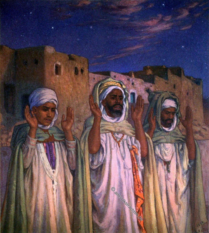 Takbir, AllÄ�hu Akbar, Gebet, Islam, Moslems, الله أَكْبَر, Etienne Dinet