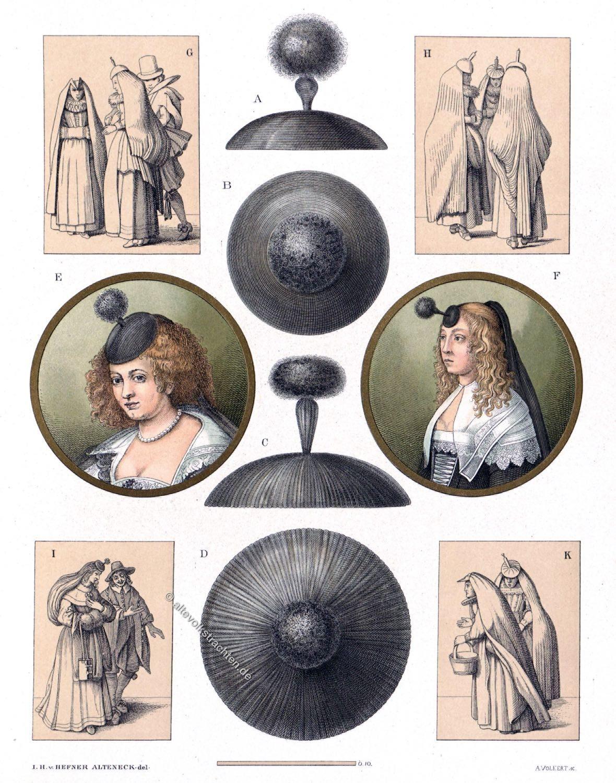 Holland, Kostüm, Mode, Barock, Niederrhein, Frauentracht