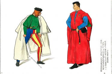 Venedig, Kostüme, Venezianische Charaktere, Renaissance