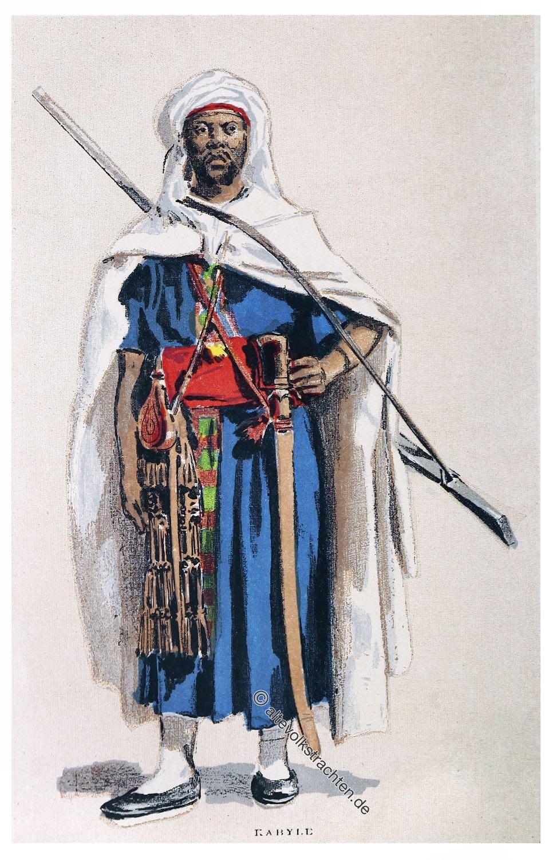Algeria, Kabyle, Berber, costume