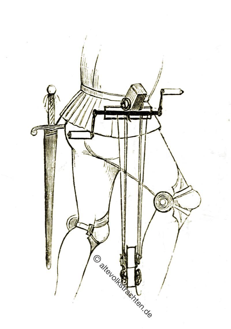 Armbrustschütze, Englische Winde, Technuk, Armbrüste, Waffe, Mittelalter