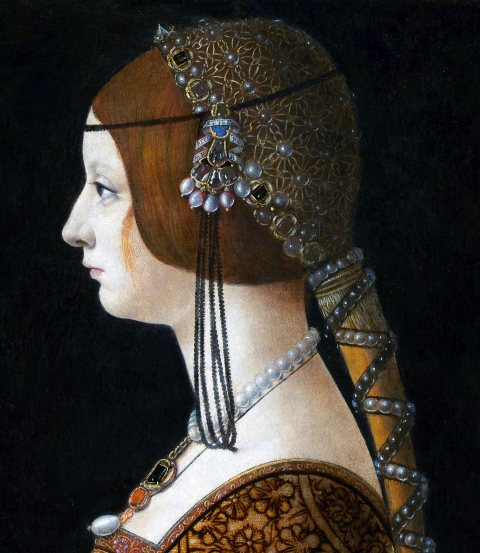 Bianca Maria Sforza, Crespine, fashion, Renaissance,