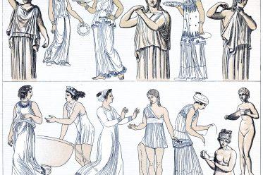 Griechenland, Chiton, Antike, Kostümgeschichte,
