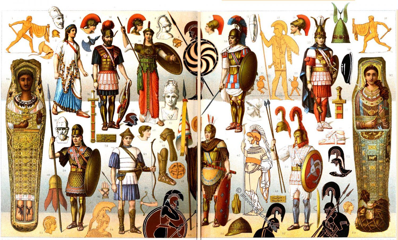 Griechenland, Antike, Krieger, Waffen, Rüstung, Phalangit, Hippeis, Peltast, Hoplit, Hopliten