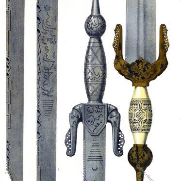 Hispanisch-arabische Schwertschmiedekunst des 15. Jh.
