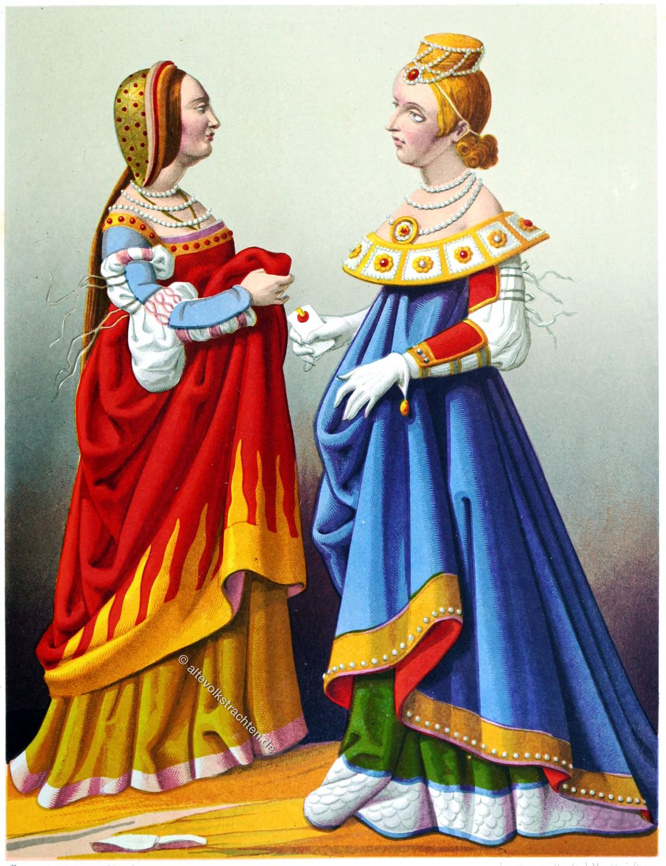 Venedig, Lombardei , Italien, Kostüme, Mittelalter, Mode