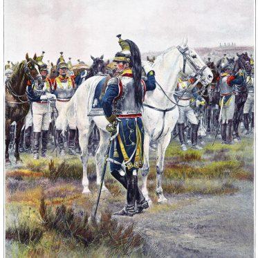 7. Kürassiere. Erster Offizier. 1807. Die Grande Armée.