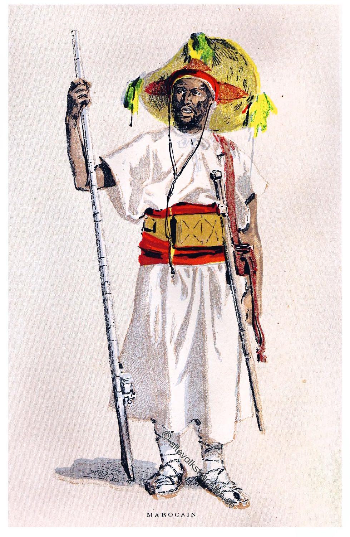 Morocco, Moroccan, costume, Mary Elizabeth Herbert, Baroness Herbert of Lea.
