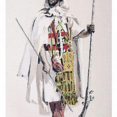 Berber aus der Volksgruppe der Mozabiten um 1882.