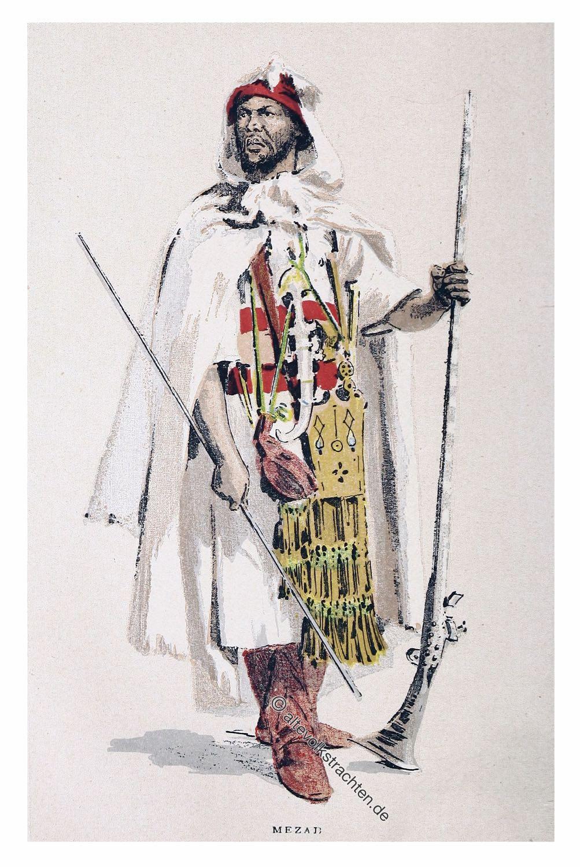 Berber, Mozabite, Algeria, Maghreb, Costume