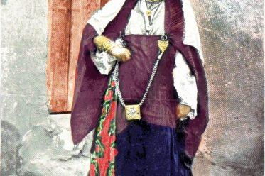 Ouled-Nail, Nomadenstamm, Algerien, Schmuck, Tracht