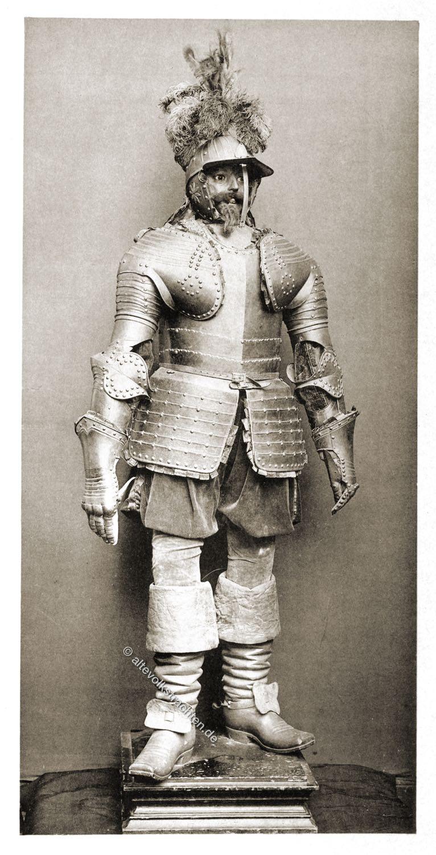 Pappenheimer Kürassier , Reitter, Rüstung, Kavallerie, Soldat, Barock, dreißigjähriger Krieg