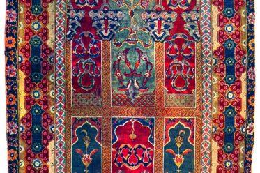 Gebetsteppich, Persien, Antk