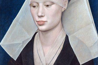 Rogier van der Weyden, Hennin, burgundische Mode,