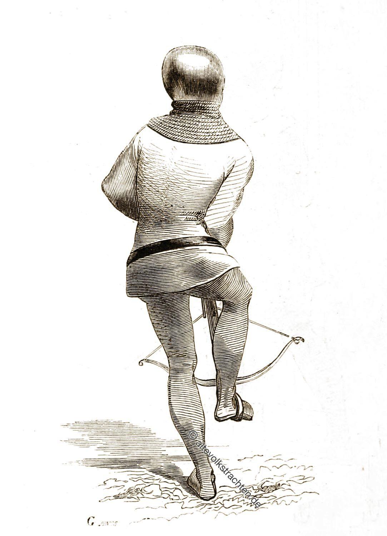 Gürtelhaken, Armbrustschütze, Technik, Militär,