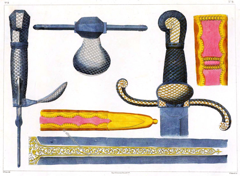 Sable, Sabre, Schwert, Boabdil,